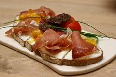 banta sunda organiska recipies för mat Royaltyfria Bilder