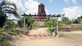 Bantany Belltower, район Bantany, Vigan стоковое изображение