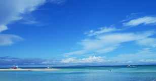 Bantayan Island, Cebu, Philippines. The shoreline of Bantayan Island, Cebu Philippines stock photos