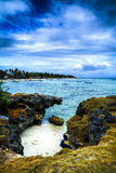 Bantayan - kust Arkivfoto