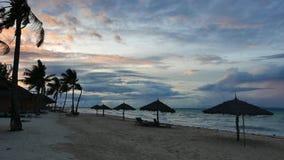 Bantayan Sunrise 22 stock video footage