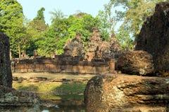 Banteai Srei, Siem Reap, Cambodia Royalty Free Stock Photo