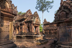 Banteai Srei, Siem Reap, Cambodia Stock Photo