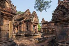 Banteai Srei, Siem Reap, Cambodia. Banteai Srei temple, the temple of women, near Angkor wat, Siem Reap, Cambodia Stock Photo