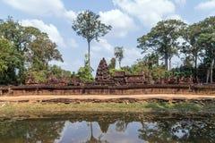 Banteai Srei, Siem Reap, Cambodia Stock Image
