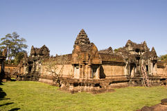 banteay ναός της Καμπότζης angkor samre Στοκ Εικόνες