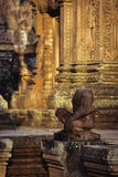 banteay ναός srei καταστροφών της Κα Στοκ Φωτογραφίες