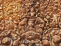 banteay ναός srei angkor Στοκ εικόνες με δικαίωμα ελεύθερης χρήσης