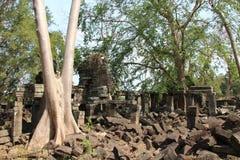 Banteay Chhmar tempel cambodia Banteay Meanchey landskap Sisophon Sity Arkivbilder