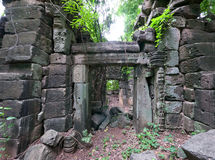 The Banteay Chhmar Temple in Cambodia Stock Photography
