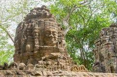 Banteay Chhmar torn Fotografering för Bildbyråer