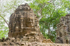 Banteay Chhmar tower Stock Image