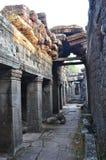 Banteay Kdei, μέρος του Angkor wat σύνθετου στην Καμπότζη Στοκ Φωτογραφία
