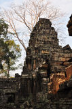 Banteay Kdei, μέρος του Angkor wat σύνθετου στην Καμπότζη Στοκ Εικόνα