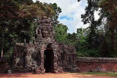 Banteay Kdei, Angkor Arkivbild
