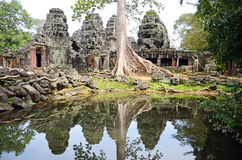 Banteay Kdei Stock Photo