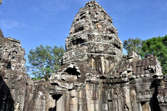 Banteay Kdei in Angkor Wat Stock Photo