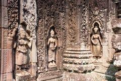 Banteay Kdei in Siem oogst, Kambodja royalty-vrije stock foto's