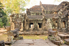 Banteay Kdei Temple in Angkor, Cambodia Royalty Free Stock Photos
