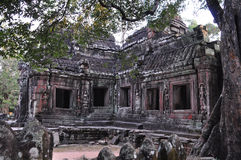 Banteay Kdei Temple in Angkor, Cambodia Stock Photo