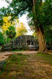 Banteay kdei temple, Angkor,  Siem Reap,  Cambodia Stock Photo