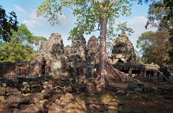 Banteay Kdei temple.Angkor. Siem Reap. Cambodia Royalty Free Stock Photo