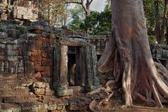 Banteay Kdei temple.Angkor. Siem Reap. Cambodia Royalty Free Stock Photos