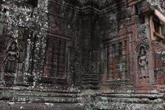 Banteay Kedi寺庙在吴哥 库存图片