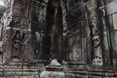 Banteay Kedi寺庙在吴哥 免版税库存照片