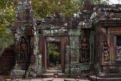 Banteay Kedi świątynia w Angkor Zdjęcie Royalty Free