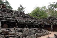 Banteay Kedi tempel i Angkor Arkivfoton