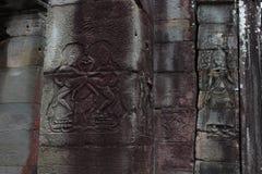 Banteay Kedi tempel i Angkor Royaltyfria Foton