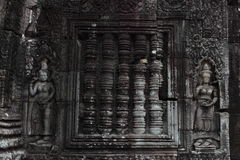 Banteay Kedi tempel i Angkor Royaltyfria Bilder