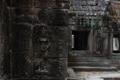 Banteay Kedi Temple in Angkor Stock Image