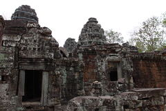 Banteay Kedi Temple in Angkor Stock Images