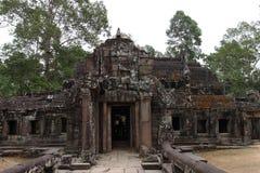 Banteay Kedi Temple in Angkor Stock Photography