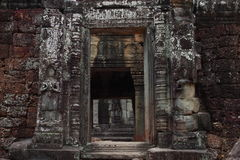 Banteay Kedi Temple in Angkor Stock Photos