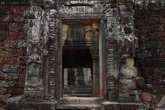Banteay Kedi Temple in Angkor Stock Photos