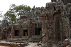 Banteay Kedi Temple in Angkor Stock Photo