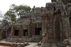 Banteay Kedi Temple in Angkor Stock Photo