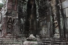 Banteay Kedi Temple in Angkor. Siem Reap, Cambodia Royalty Free Stock Photo