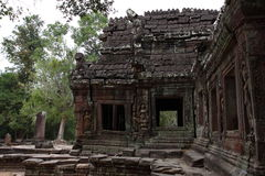 Banteay Kedi Temple in Angkor. Siem Reap, Cambodia Royalty Free Stock Images