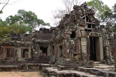 Banteay Kedi Temple in Angkor Royalty Free Stock Images