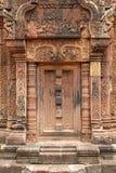 banteay khmer srei αναγλύφου Στοκ Εικόνες