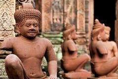 banteay opiekunów srey świątynia Obraz Royalty Free