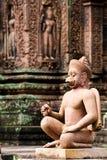 banteay opiekunu srey świątynia Fotografia Royalty Free