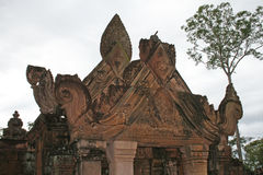 Banteay roof Stock Photos