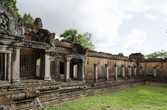Banteay Samre. Ankor wat style temple built in the second half of the 12th century in cambodia siem reap ankorian period stock images