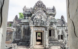 Banteay Samre. Ankor wat style temple built in the second half of the 12th century in cambodia siem reap ankorian period stock photos