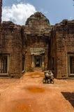 Banteay Samre Day blue sky brown orange floor Royalty Free Stock Image